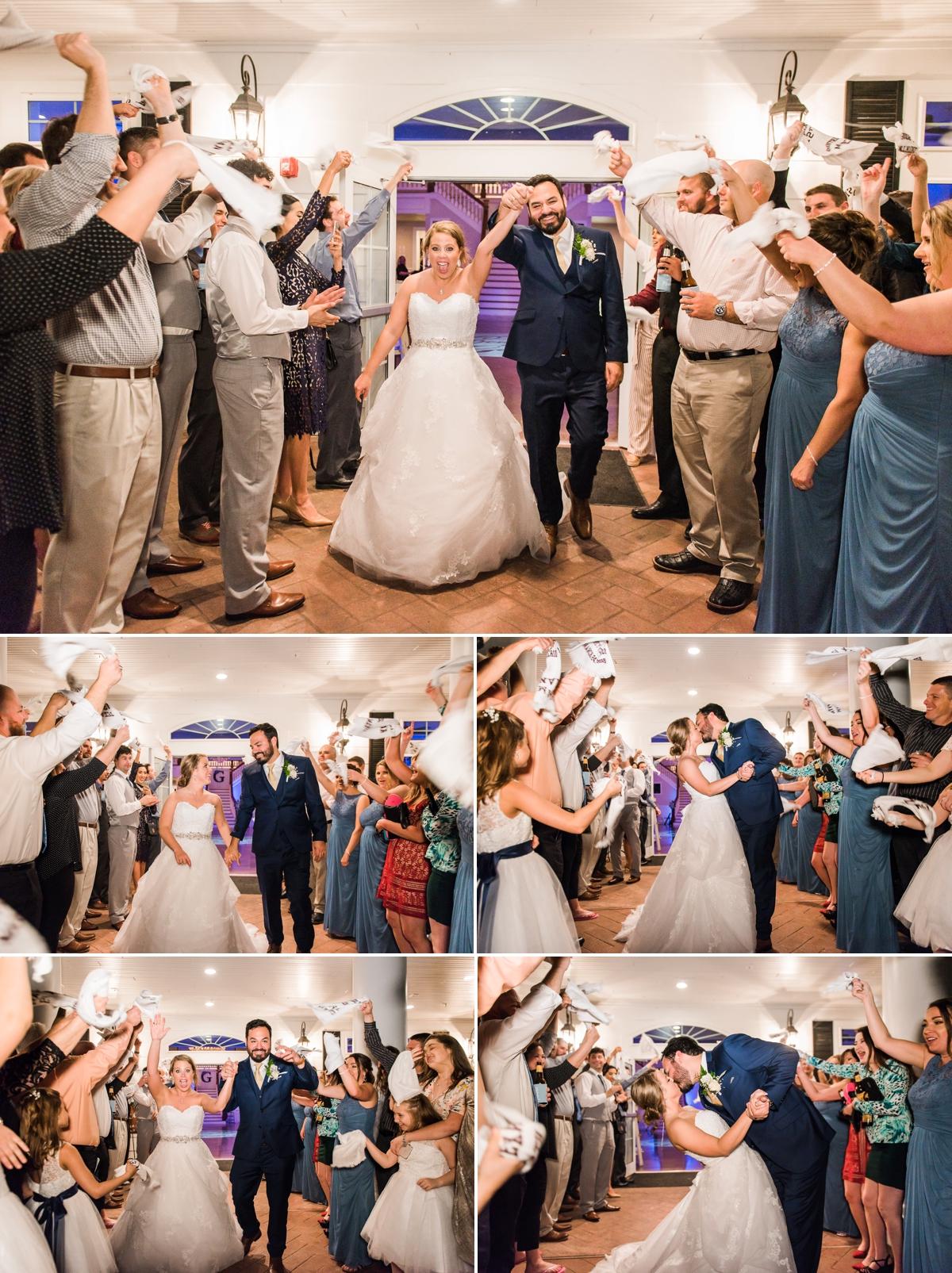 Magnolia Manor Wedding Aggie Exit