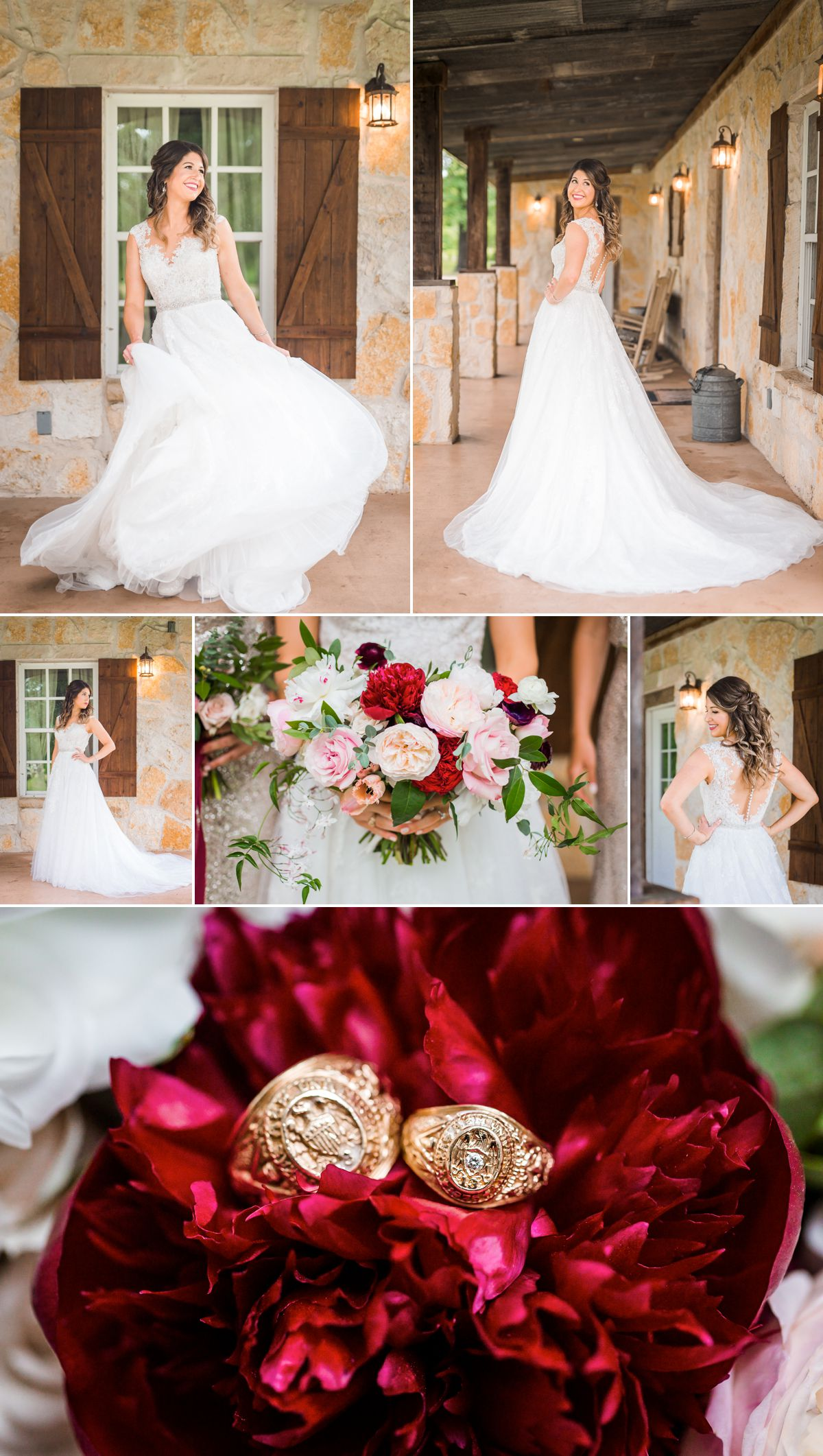 Bridal Portraits and Details for Balmorhea Wedding