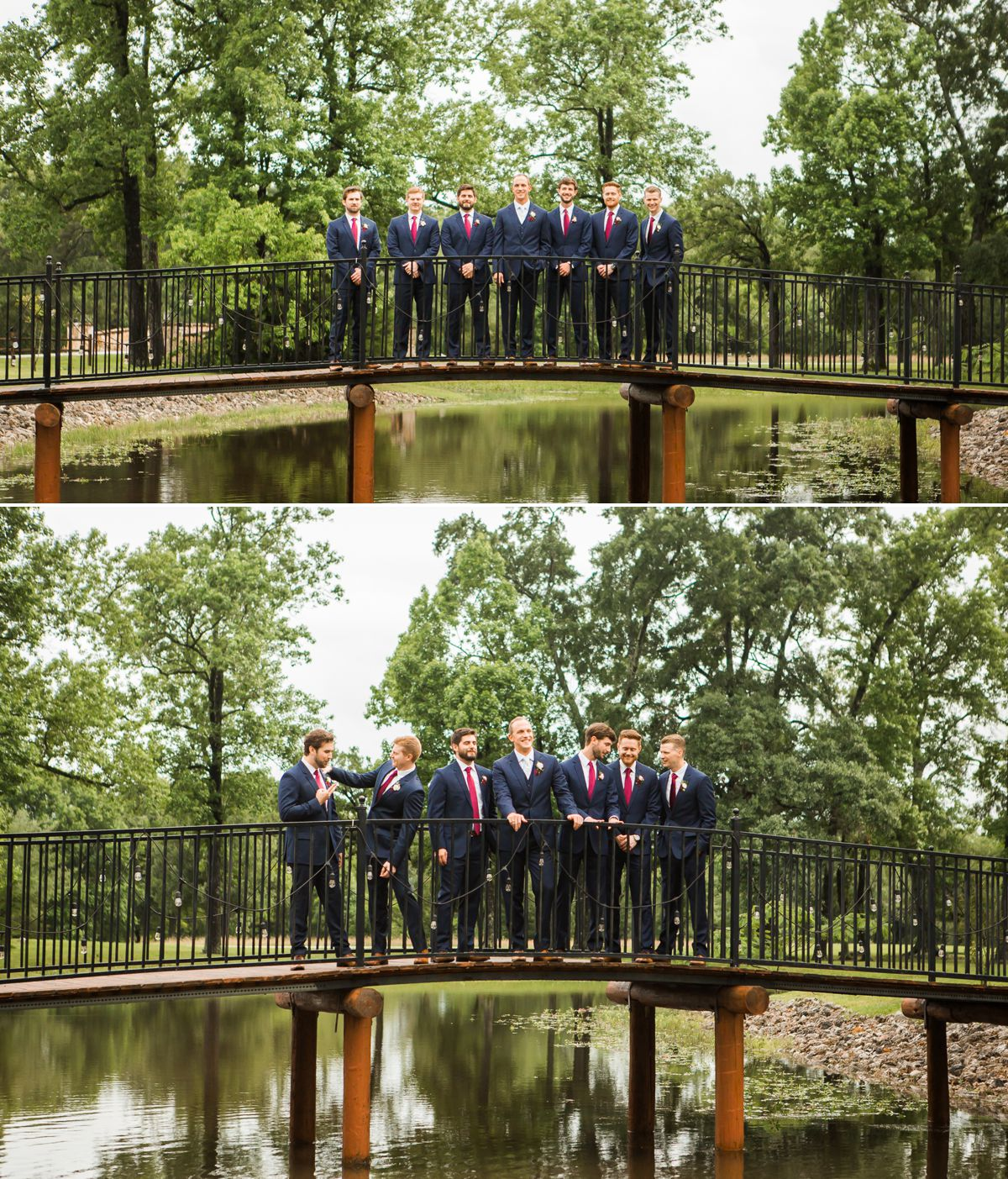 Groomsmen Portraits at Balmorhea Wedding