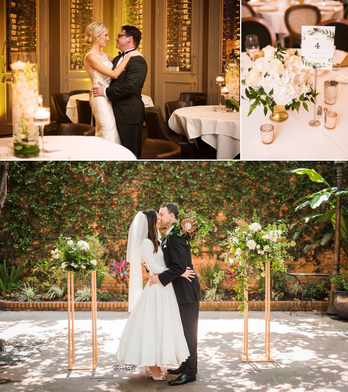 4 Advantages of Intimate Weddings - Brennan's of Houston Wedding