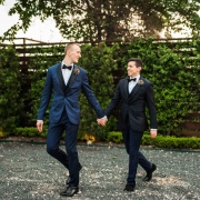 Peter & Matt's Modern Wedding at The Astorian Houston