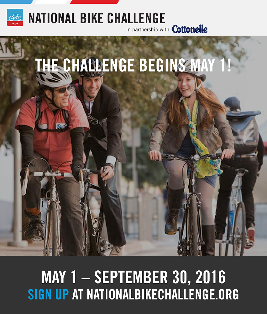 National Bike Challenge May-Sept