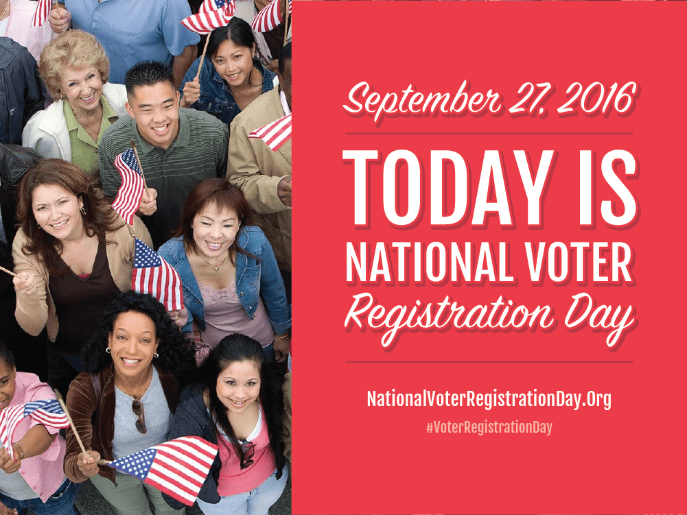 Image result for national voter registration day