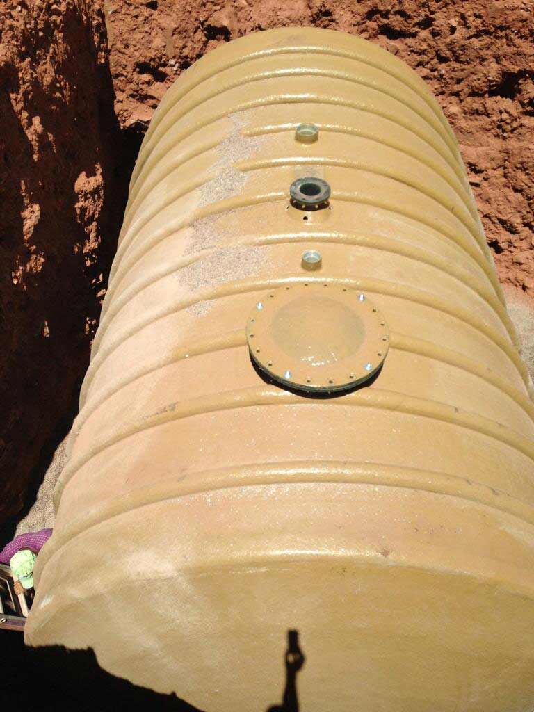 Underground Fiberglass Water Tanks Nationwide Tank And Pipe