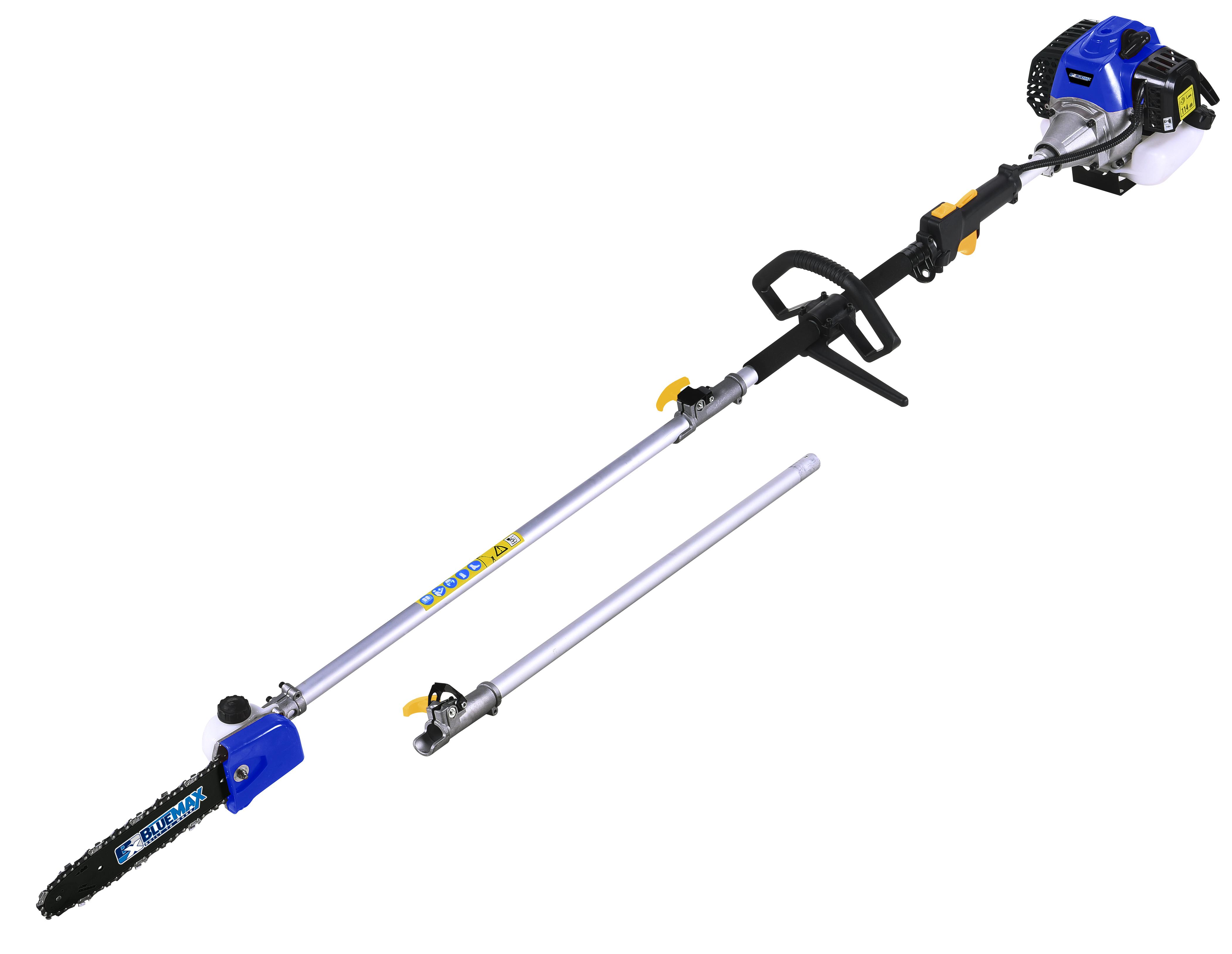 Blue Max 32.6 cc Gas Gas Pole Saw Chainsaw Pruner 10