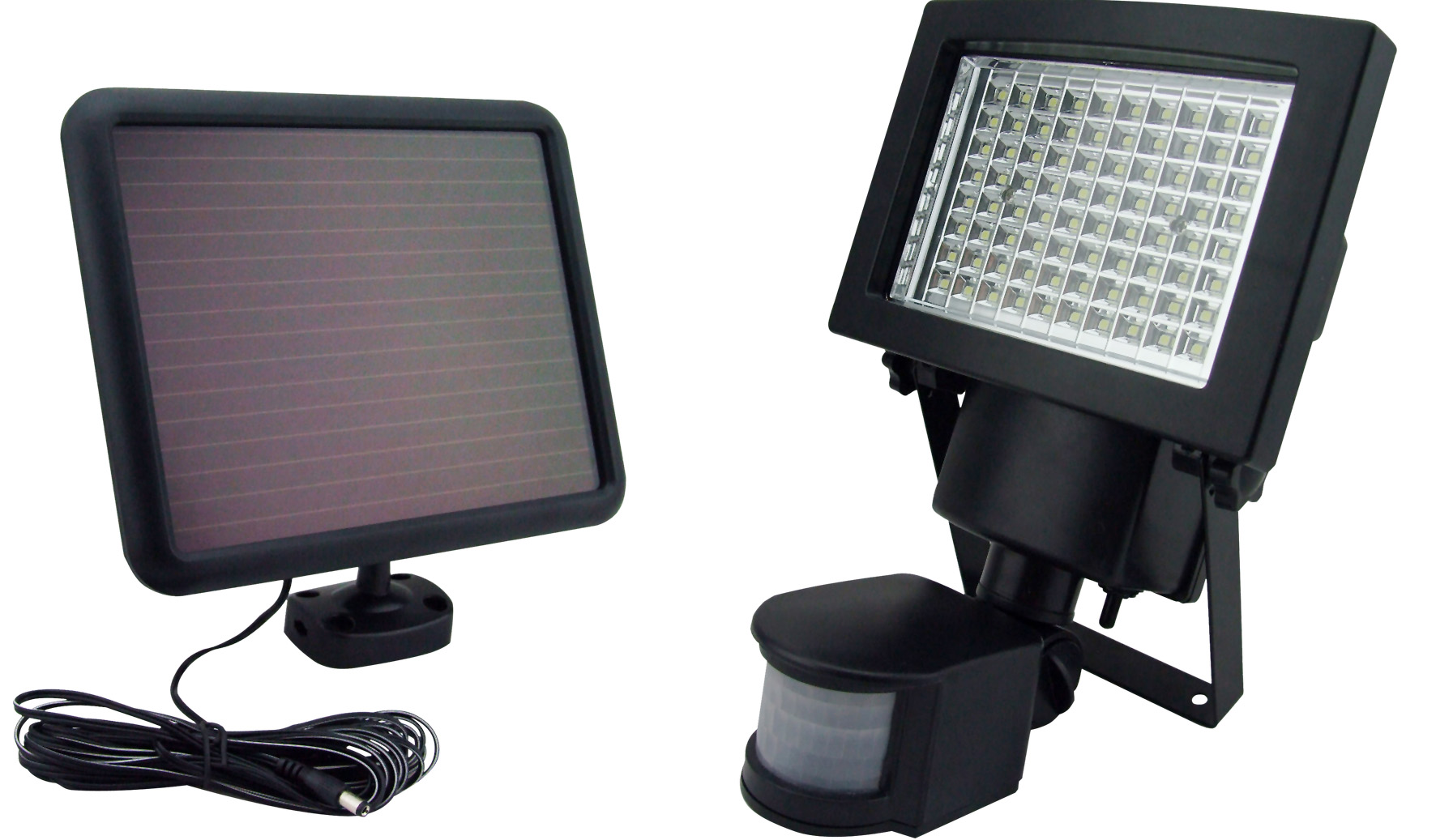 Sontax 80 led solar powered outdoor garden motion light security payment delivery tax information mozeypictures Gallery