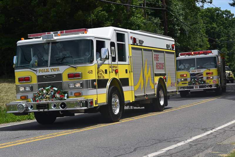 Polk Fire department 50th anniversary parade | Times News ...