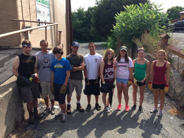 Riverfront cleanup   Times News Online