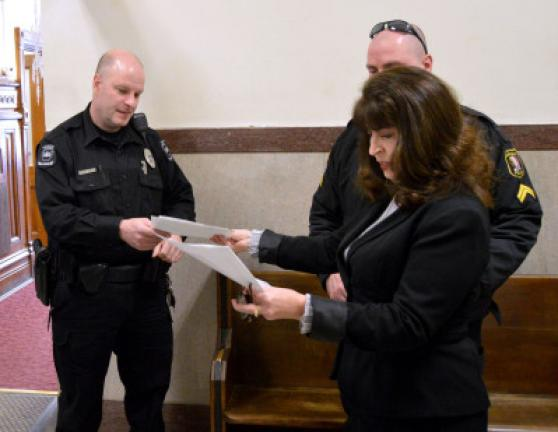 Police receive funds for task force work   Times News Online