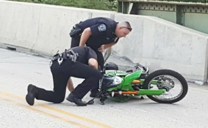 Motorcyclist crashes after fleeing from police | Times News