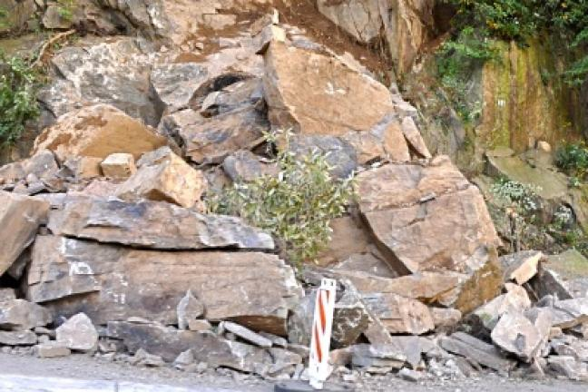 209 Rock Slide Cleanup Set For Sept 29