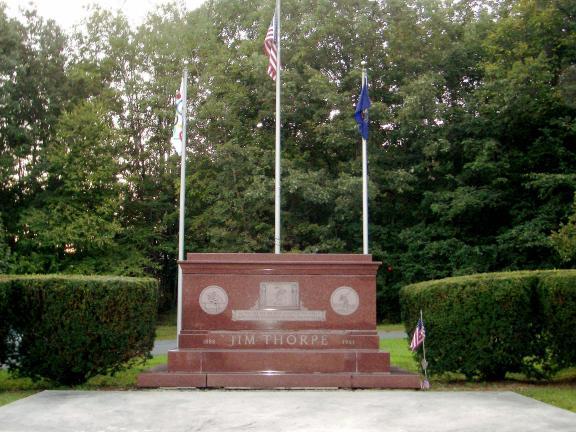TIMES NEWS FILE PHOTO The Jim Thorpe Memorial