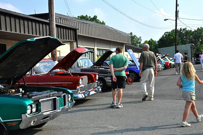 """VICTOR IZZO/SPECIAL TO THE TIMES NEWS In addition to a car cruise that was hosted by the Jukebox Cruisers Car Club, there were about 70 Classic Cars on display at Memorial Park during last Saturday's """"Cruise to the Music Festival"""" fundraiser which…"""
