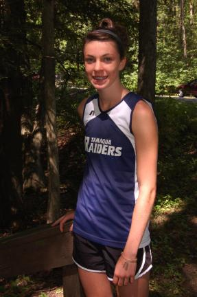 Joe Plasko/TIMES NEWS Tamaqua junior Amber Carroll is already out of the gates and running well, if the results from two preseason races this month are any indication.