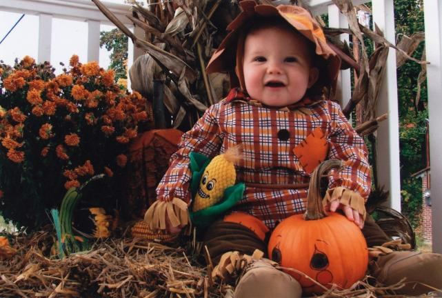 Scaring up smiles in the pumpkin patch