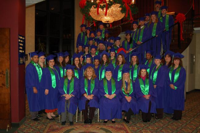 JOE PLASKO/TIMES NEWS McCann School of Business and Technology, Hazleton Campus, held commencement exercises for its December, 2010 graduating class on Dec. 22 at Genetti's Motor Lodge.