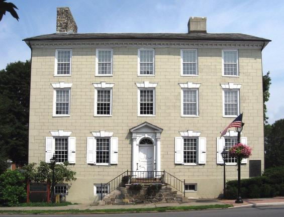 The Monroe County Historical Association museum is housed in this 1795 building at Ninth and Main St., Stroudsburg