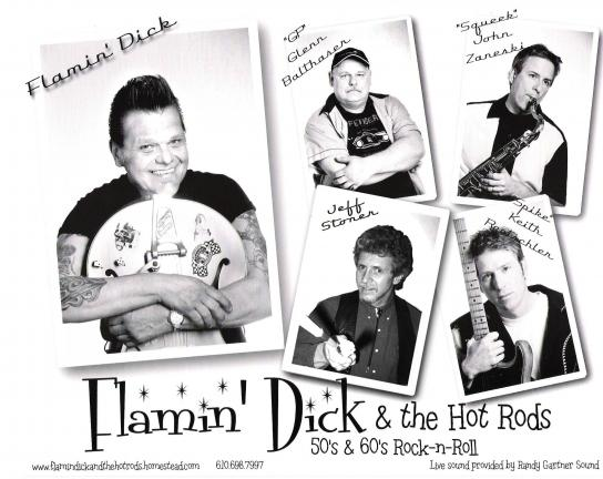 Flamin dick and the hot rods