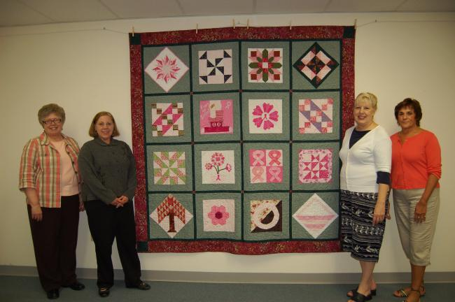 Gail Maholick Times News A Scrap Of Pink Polka Dotted Fabric