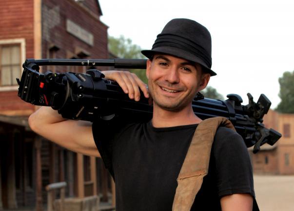 SPECIAL TO THE TIMES NEWS Filmmaker Noah Berlow