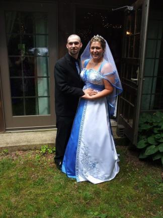 Mr. and Mrs. Mark Rawlins Jr.