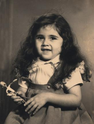 Adelheid Sanwald as a child. This photo, published in a German newspaper, brought Sanwald, now Muller, together with her sister, Sheila Valdez of Lansford.