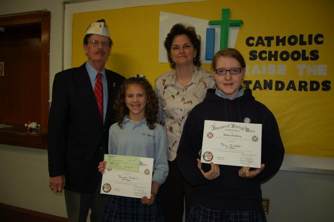 Persuasive Essay Thesis Gail Maholicktimes News Winners Of The Vfw Patriots Pen Essay Contest  Were Presented Awards Essays On Importance Of English also Example Essay English Vfw Patriots Penn Essay Contest Winners Recognized  Times News Online Business Essay Format