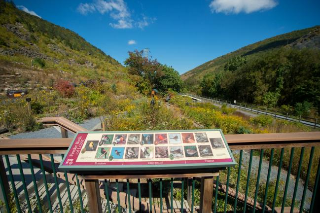 BOB FORD/TIMES NEWS  This beautiful view of Little Gap is seen from the deck of the Lehigh Gap Nature Center. The U.S. Environmental Protection Agency recognized the nature center with its 2014 Excellence in Site Reuse Award. For more photos of the…