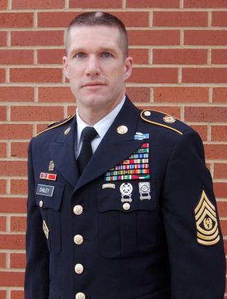 Command Sgt. Maj. Daniel A. Dailey