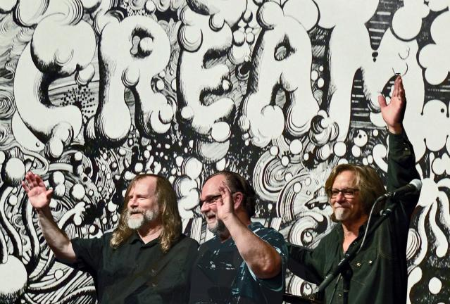 SPECIAL TO THE TIMES NEWS Wayde Leonard, Don Plowman and Craig Thatcher will pay tribute to Cream at the Mauch Chunk Opera House in Jim Thorpe this Saturday.