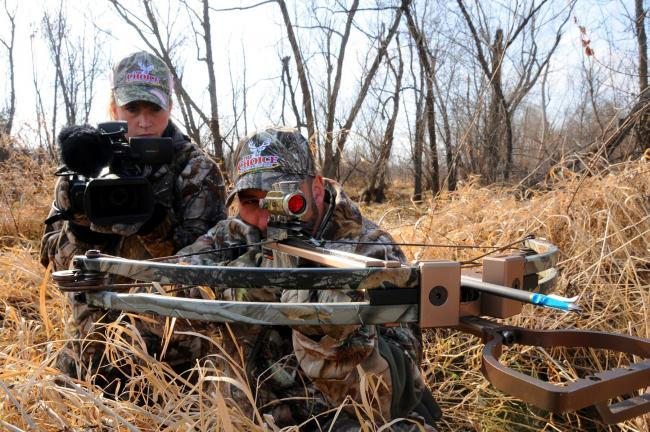 LISA PRICE/TIMES NEWS Ralph and Vicki Ciancuarulo are one of the outdoor industry's best known hunting couples.