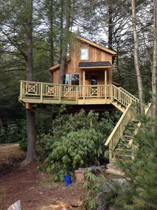 treehouse masters tree houses. Special To The Times News Baines Family Of Jim Thorpe Won A Custom-built Treehouse Masters Tree Houses I