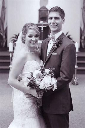 Mr. and Mrs. Nicholas Deebel