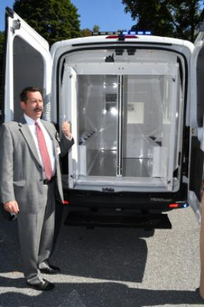 Prisoner Transport Van >> New Sheriff Van Saves On Prisoner Transports Costs Times