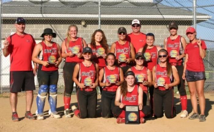 The Valley Regional Warriors 16u girls fast pitch travel