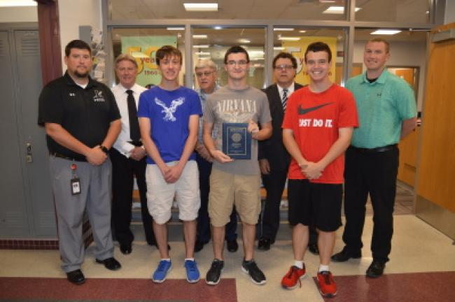 Ryan Moerder, Matt Eckhart and Mason Smith, all Lehighton Area High School seniors, qualified for the national Future Business Leaders of America conference in Anaheim, California, from June 27-July 3 after finishing second in the state banking and…