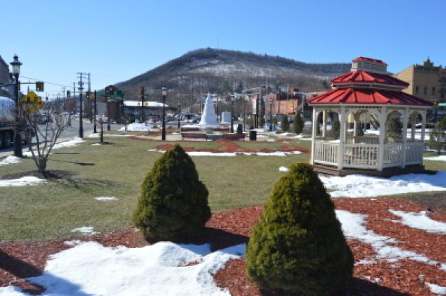 Tamaqua's Depot Park will be upgraded in spring. CHRIS REBER/TIMES NEWS