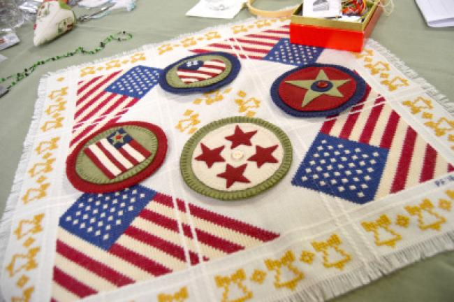 Embroiderers Show Off Handiwork At The Fair Times News Online