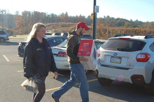 Customers report 'tame' shopping experience on Black Friday