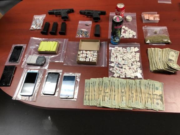 Police seize drugs, cash and guns in Frackville raid | Times