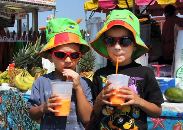 The Great Allentown Fair Is Also Known For Its Special Treats Like Smoothies Times News File P O