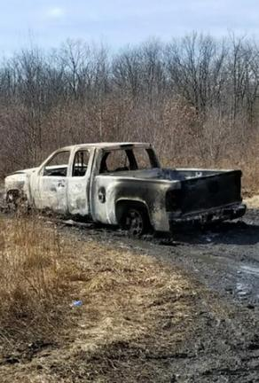 Police find burned truck that was stolen from auto shop
