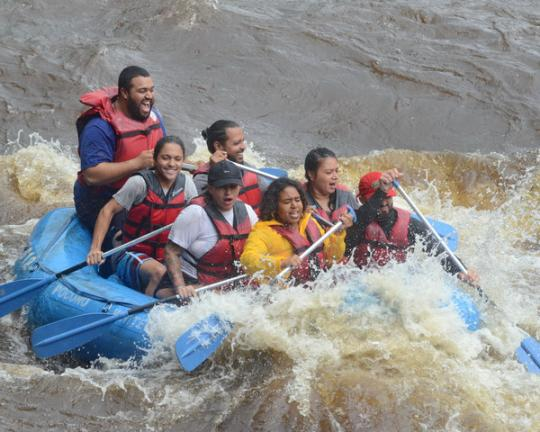 aa81fd84992e7 Water levels, spirits high for rafting guides | Times News Online