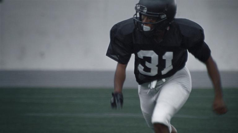 Empty. This undated image provided by Toyota Motor North America shows a  scene from the company s 2019 Super Bowl NFL football spot ... 4f056dd4a