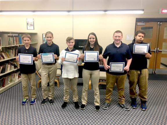 Tamaqua Area Middle School Students Of The Month Named Times News