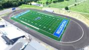 An overview of the stadium provided by Barry Isett and Associates.