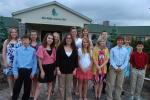 TERRY AHNER/TIMES NEWS Palmerton Area Junior High School seventh grade students who were honored at a banquet held recently at the Blue Ridge Country Club in Palmerton were Ashley Weiner, Kody Kolnik, Emily Smith, Alanna Shivone, Alyssa Olewine,…