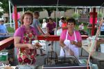 TIMES NEWS FILE PHOTO Mary Fulton, left, and Jackie Colancecco cook up some tasty wings at the St. Joseph's Festival in Summit Hill last year. Wings are just one of the many ethnic and American foods that will be available during the 80th annual St…