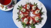 Italian Stuffed Strawberries SARA MOULTON VIA AP