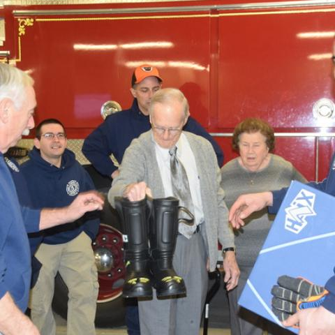 Lehighton Fire Department receives gear through contributions | Times News Online